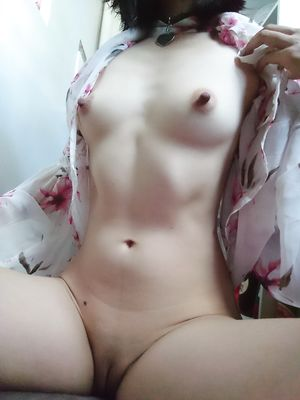 Asian Teen Flash Tits and Open Legs