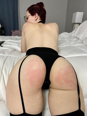 20 yo. Bad girls get punished