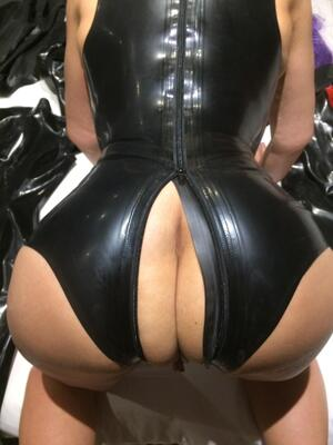 How do you feel about crotchless latex bodysuits?