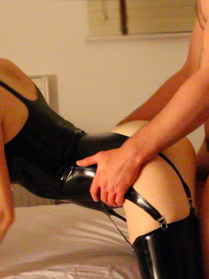Latex fun with him
