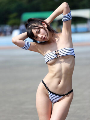 Japan Girl in Bikini