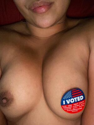 Can my titties have your vote today?