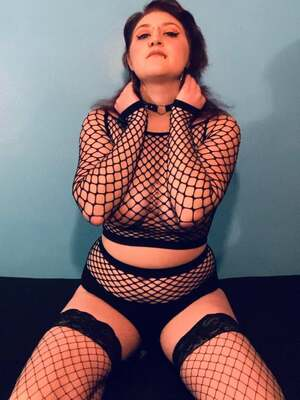 Feeling frisky! Love me some fun in fishnets!