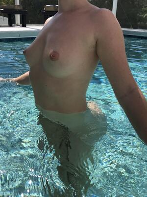 Wetter is better!! Any day is a good day to get freaky in the pool