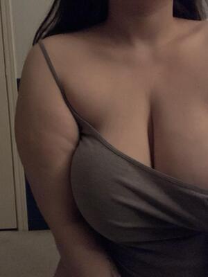 Teasing my big tits