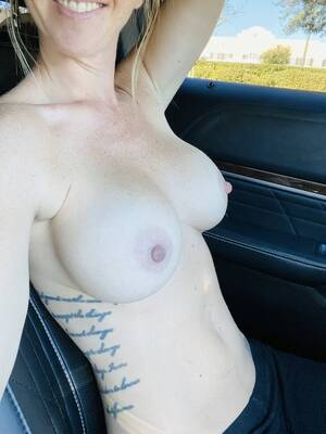 Suck on my nipples while I drive