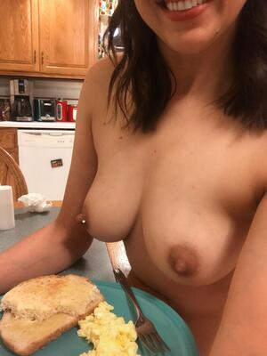 Would you like some boobs with your breakfast?
