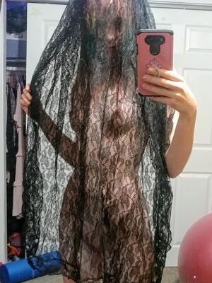 Hiding behind a veil