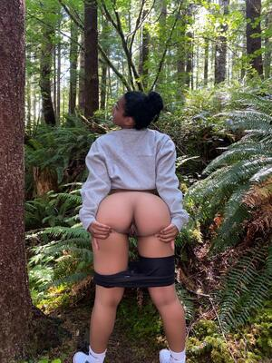 Would you fuck me in the woods