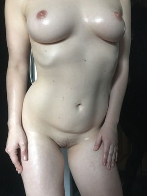 24 yo. My lil' belly is part of the package, but I still think it's a pretty good deal