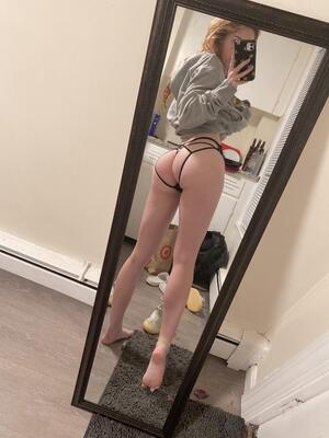 I'll be wearing this thong all the time around campus, but only redditors get to see it