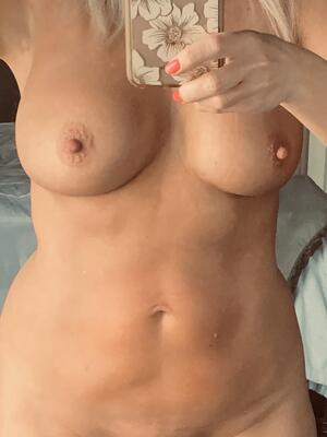 A little selfie Titty Tuesday? Have a great day!