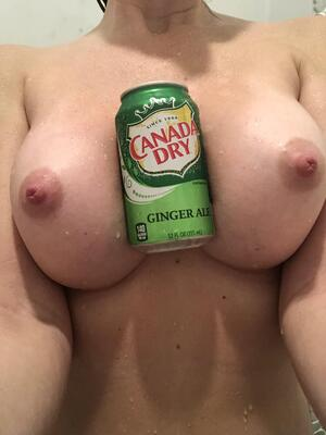 A little silly fun with my shower beverage!
