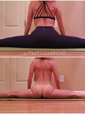 Do you ever what your yoga instructor looks like under her yoga pants?