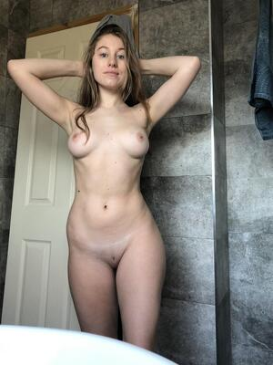 I hope you can appreciate a no makeup, simple nude