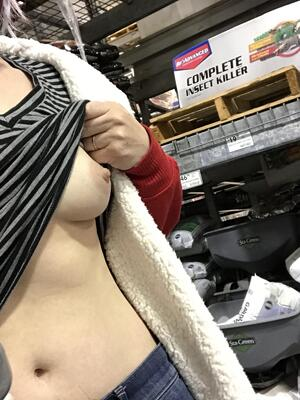 The pandemic has really raised my bar for what situations I think require a bra. Hardware store: why bother?