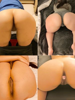 Multiple views of 27 yo pawg wife. With plug in ass