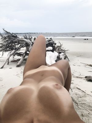 Tan Lines on The Beach