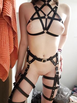 Young Girl in Bondage