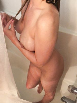 Big Breasts MILF in Shower