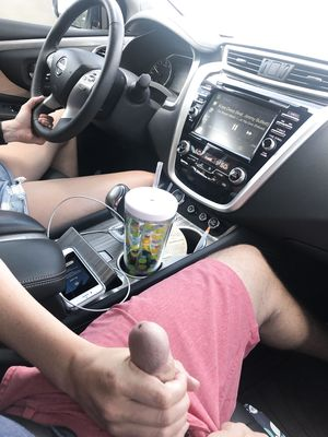 Handjob in Car