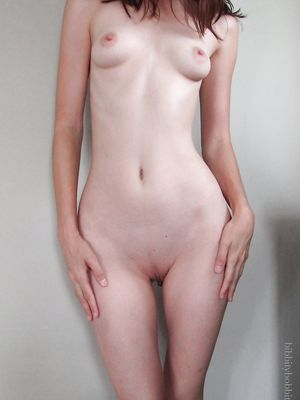 Frontal Nude Slim Teen