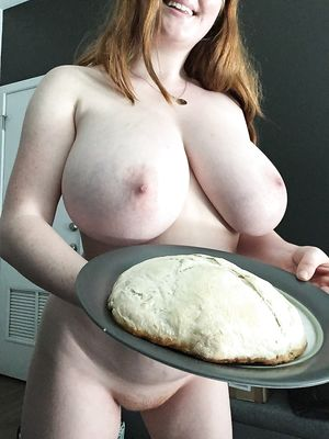 Redhead MILF With Giant Tits