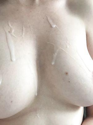 MILF Tits in Cum