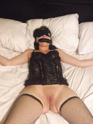 Sexy Wife Tied to Bed