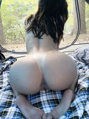 nude Wife From Behind in Forest