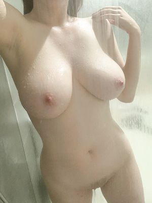 Busty Babe in Shower