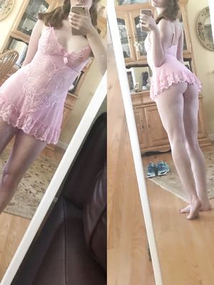 18 yo. I love my dresses short and lacy