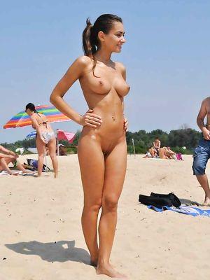 beach, pussy, nue, nudist, gf, tit