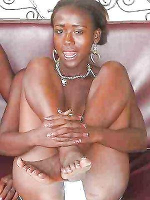 ebony, Black, posing
