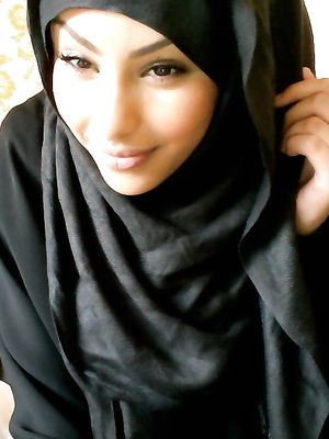arab, gf, posing