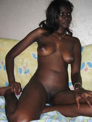 ebony, Black, posing