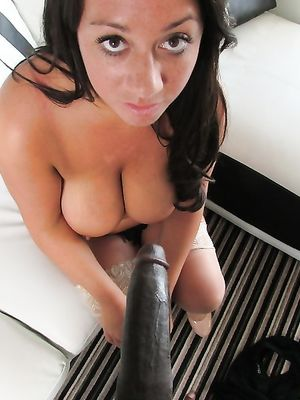Busty Wife and Her First BBC