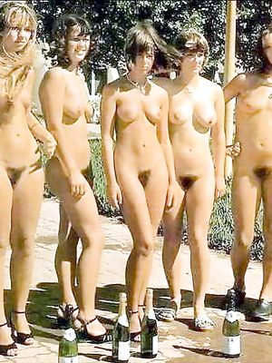group, nude, gf
